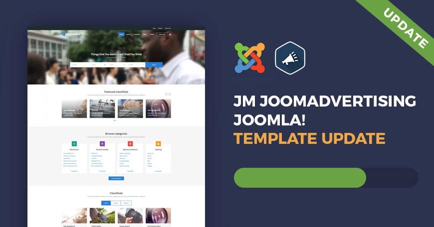 Joomla News: UPDATE JM JoomAdvertising Joomla classifieds template ver 1.09