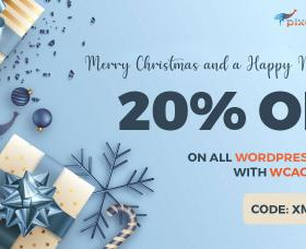 News WordPress: Christmas SALE - WCAG and ADA WordPress themes 20% OFF