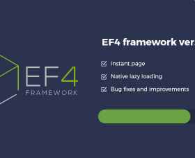 Joomla News: EF4 Joomla Framework updated with new features