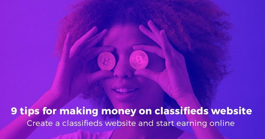 Joomla News: 9 tips for making money on classifieds website