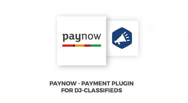 Joomla News: PayNow DJ-Classifieds payment method