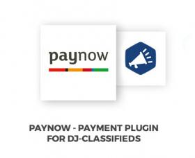 Joomla News: PayNow DJ-Classifieds payment method