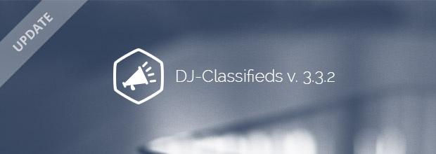 Joomla News: DJ-Classifieds updated to 3.3.2 version