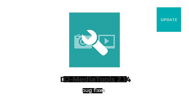 Joomla News: DJ-MediaTools 2.14 ver released