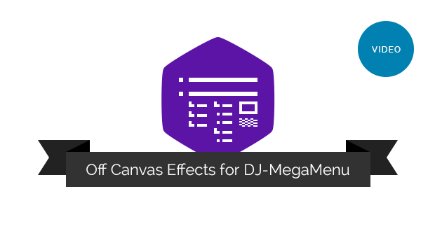 Joomla-Monster Joomla News: Watch the video explaining how off canvas effects in DJ-MegaMenu works