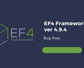 Joomla News: EF4 Framework 4.9.4 update