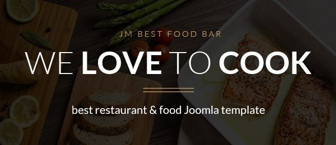 Joomla news Get this Joomla template to create successful restaurant site!
