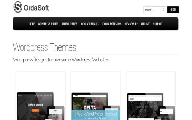 WordPress News: OrdaSoft Wordpress themes become more dynamic and easy!