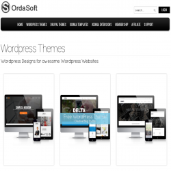 News WordPress: OrdaSoft Wordpress themes become more dynamic and easy!