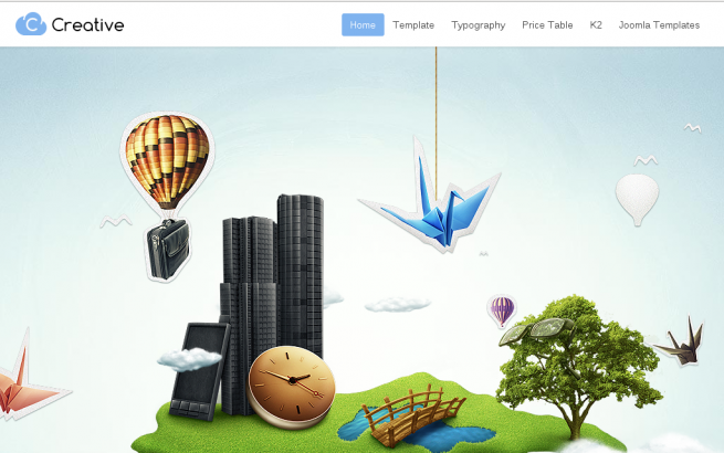 Joomla News: Top 5 Joomla Parallax Templates
