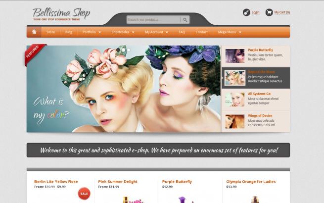 WordPress News:  E-Commerce WordPress website design