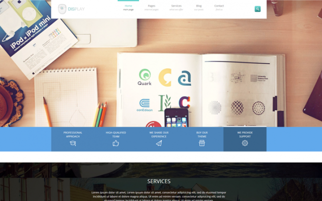 Wordpress news Top 5 WordPress themes of the month - January 2014