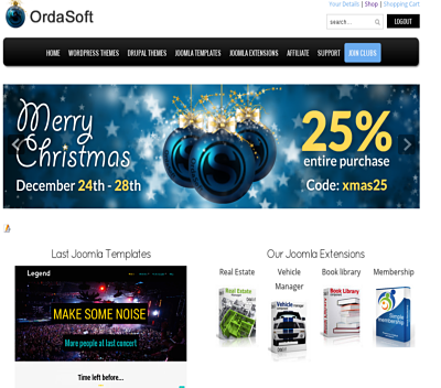 Joomla news 5 best discounts on Christmas and New Year: Joomla coupons, Wordpress coupons, Drupal coupons!