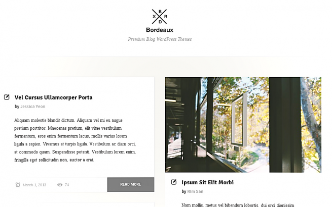 WordPress News: Wordpress blog templates Summer 2013