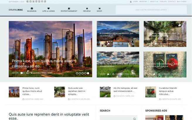 Drupal News: Best Drupal News Themes