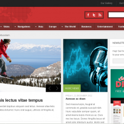 Drupal news: News theme for your drupal