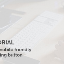 News Joomla: Make navigation on mobile friendly with sub-menu opening button