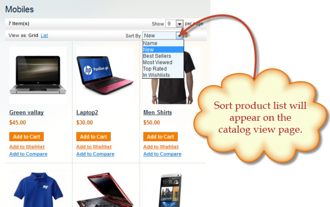 paulsimmons Magento News: Magento Sort Products Extension by FMA