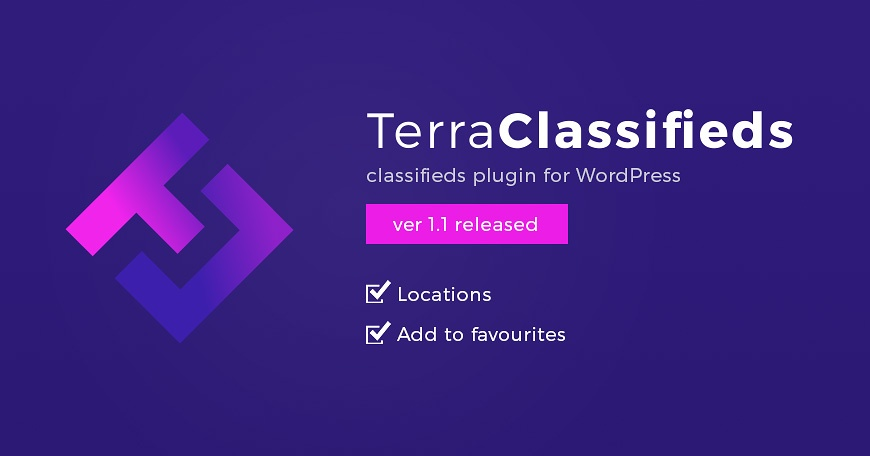 WordPress News: TerraClassifieds 1.1 version brings new great features