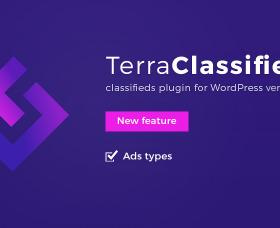 Wordpress news: TerraClassifieds classifieds plugin for WordPress with new feature Ads Types