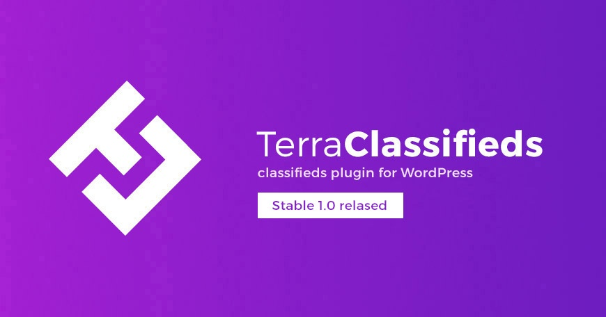 WordPress News: TerraClassifieds Stable 1.0 released