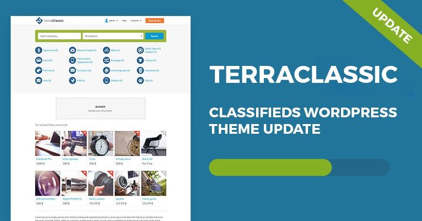 WordPress News: TerraClassic WordPress theme 1.06 update