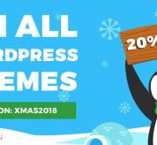Wordpress news: 2018 Christmas discount on WCAG and ADA WordPress theme