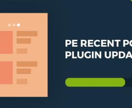 Wordpress News:  PE Recent Posts WordPress plugin updated!