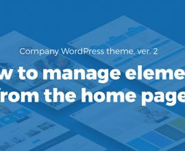 Wordpress News: Company WCAG and ADA WordPress theme video tutorial