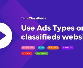 Wordpress news: Video guide - how to use Ads Types in TerraClassifieds