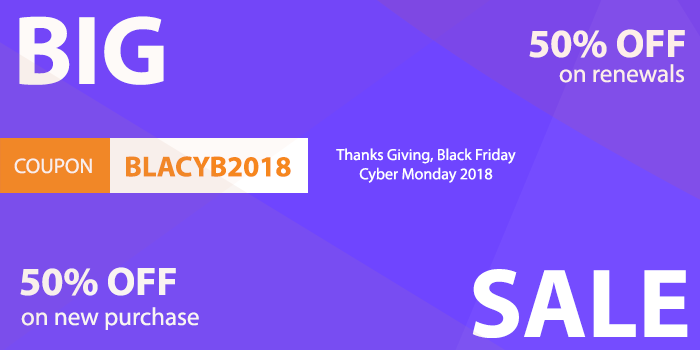 Joomla News: Black Friday & Cyber Monday Deals on 2018