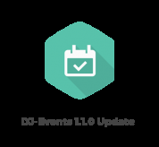 News Joomla: DJ-Events update brings new features!