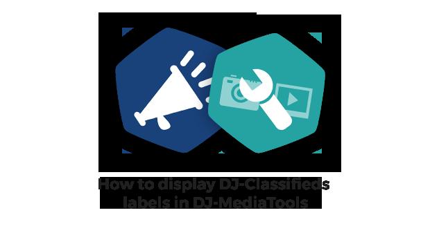 Joomla News: See how to display DJ-Classifieds labels in DJ-MediaTools