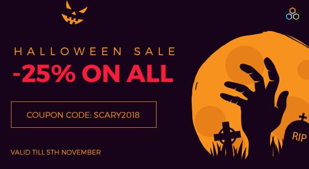 Joomla News:   Halloween -25% discount on Joomla extensions