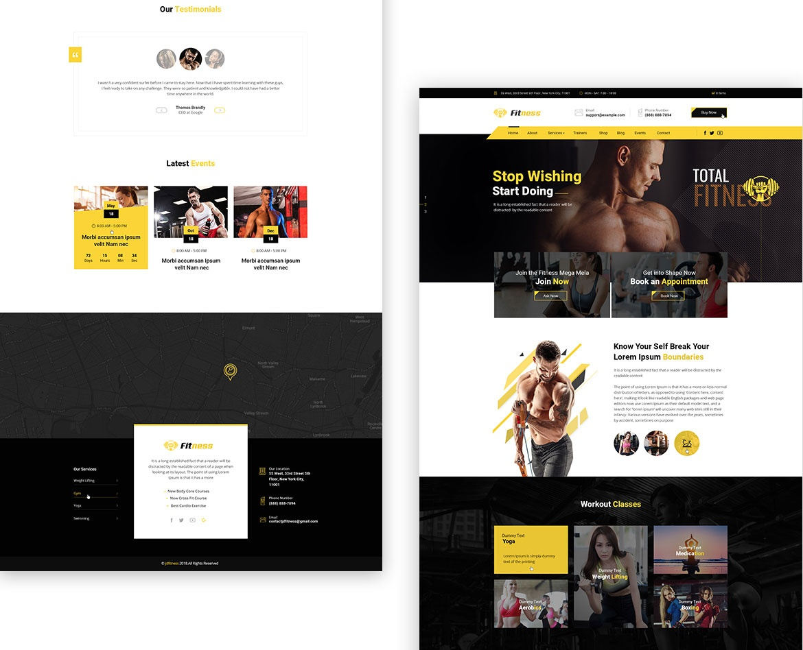joomdev Joomla News: We Just Released A New Joomla Template For Gym And Fitness Centres