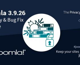 Joomla News: Joomla 3.9.26 Security and Bug Fix Release