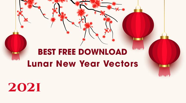 Joomla News: 10 Best Free Download Lunar New Year 2021 Vectors