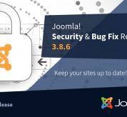 Joomla News: Joomla! 3.8.6 Security & Bug Fix Release