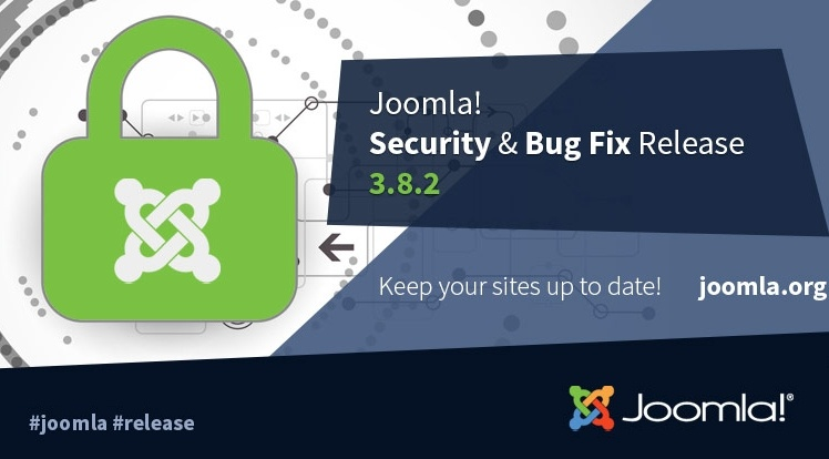 Joomla News: Joomla 3.8.2 Security & Bugs Fix Release