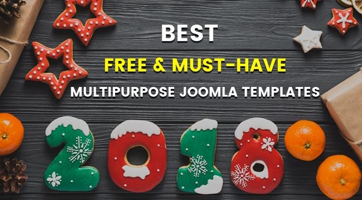 Joomla News: Best 15+ Free & Must-have Multipurpose Joomla Templates in 2018