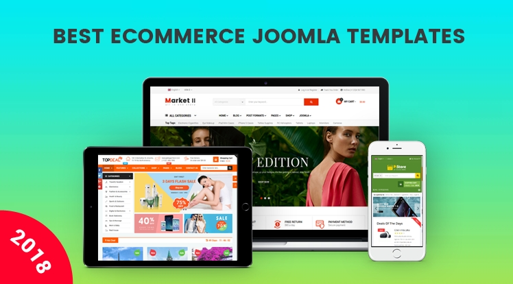 Joomla News: Best 10 Responsive eCommerce Joomla Templates You Must Have in 2018