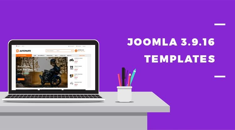Joomla News: Joomla Templates Updated to Joomla 3.9.16