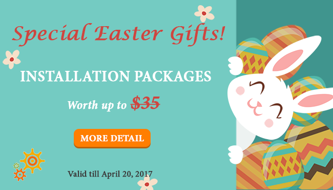 SmartAddons Joomla News: Happy Easter 2017! Get Free Exclusive Gifts from SmartAddons!