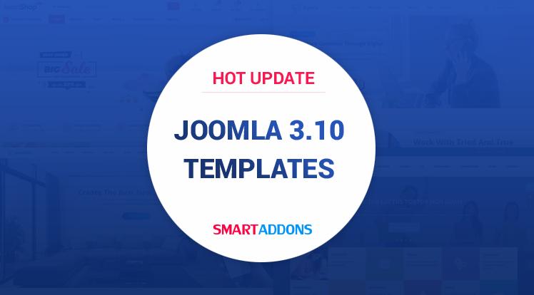 Joomla News: Joomla Templates Updated for Joomla 3.10