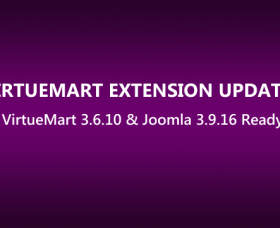 Joomla News: VirtueMart Extensions Updated to Latest VirtueMart 3.6.10 & Joomla 3.9.16