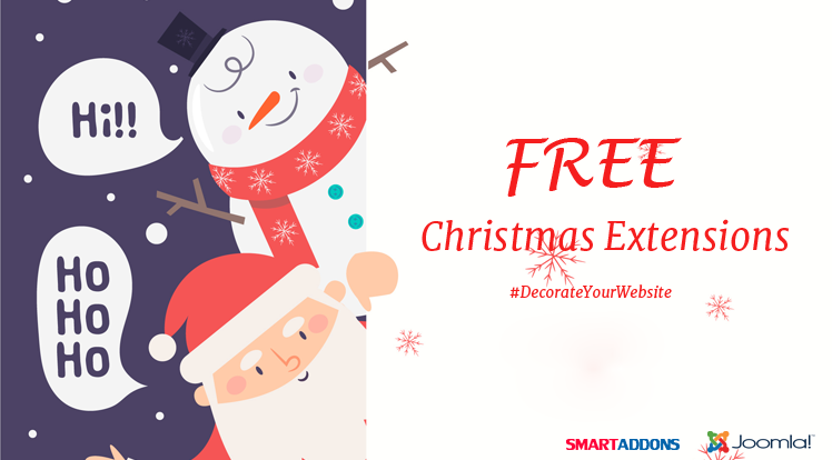 Joomla News: Free Joomla Christmas Extensions for Decorating your Website