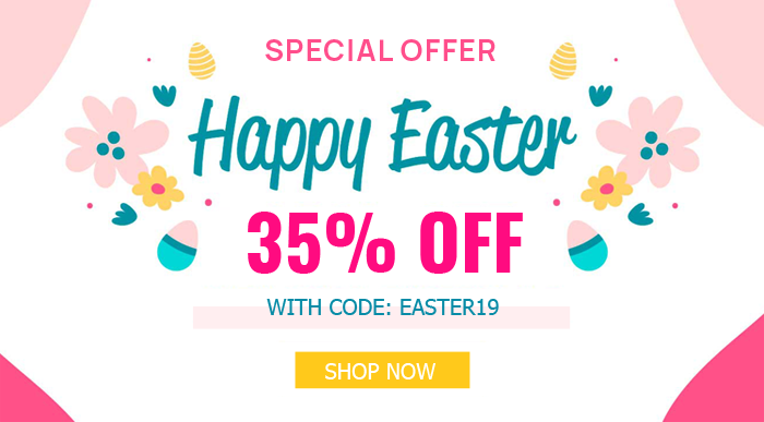 SmartAddons Joomla News: Easter Day Sale: 35% OFF on Storewide