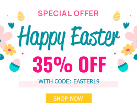 Joomla News: Easter Day Sale: 35% OFF on Storewide