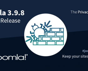 Joomla News: Joomla! 3.9.8 Bug Fix Release