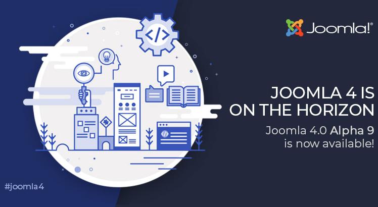 Joomla News: Joomla 4.0 Alpha 9 is Here